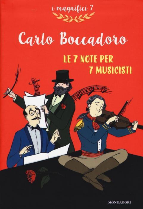 Carlo Boccadoro: Le 7 note per 7 musicisti