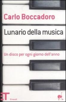 Carlo Boccadoro: Lunario della musica