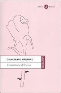 Gianfranco Marrone: L'invenzione del testo