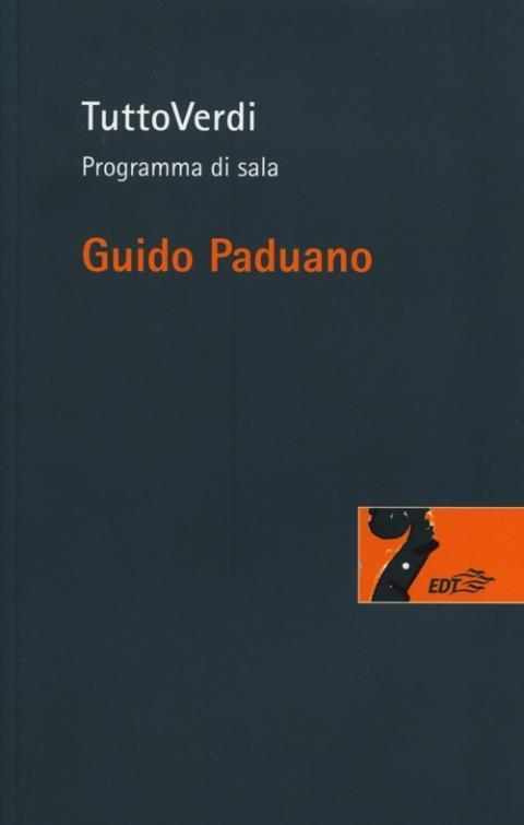 Guido Paduano: TuttoVerdi